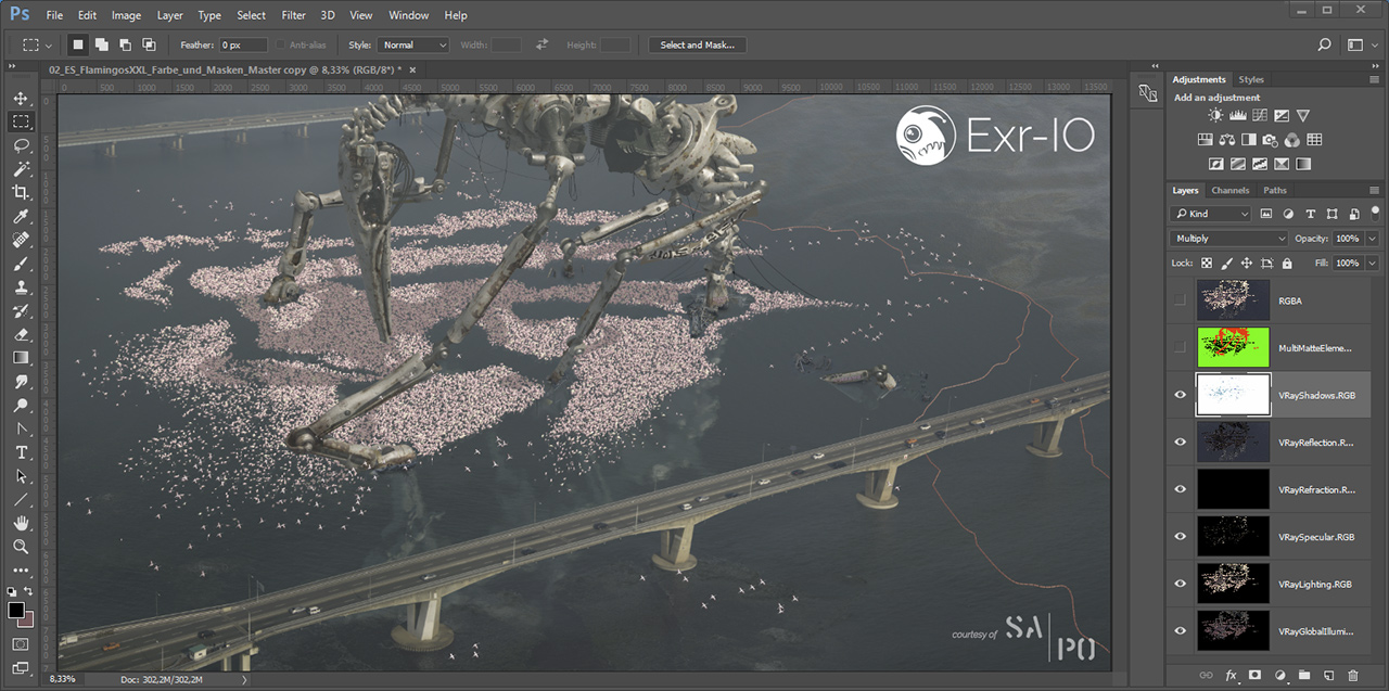 Exr-IO understands Photoshop layer options
